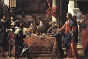 Juan de Pareja. The Calling of Saint Matthew.