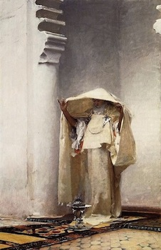 John Singer Sargent: Fumée d'Ambre Gris, 1880, oil on canvas. Sterling and Francine Clark Art Institute, Williamstown, Massachusetts. Used with permission.